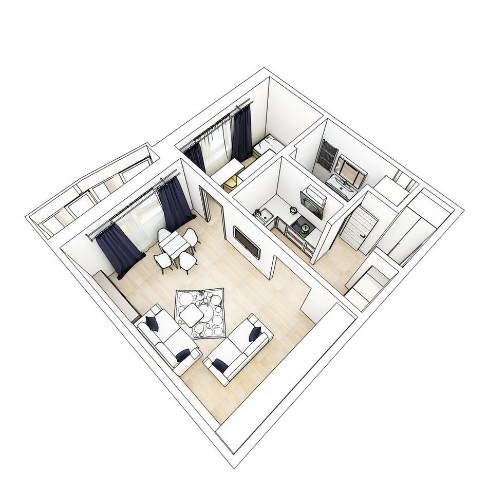 Фото варианты перепланировки трехкомнатной квартиры